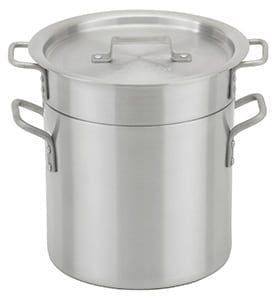 Aluminum Double Boilers, 20 qt