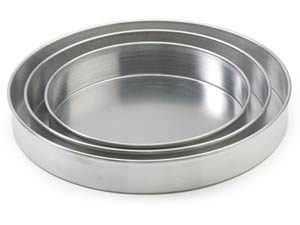 "Pizza Pan, 2"" Deep x 6"" Diam."