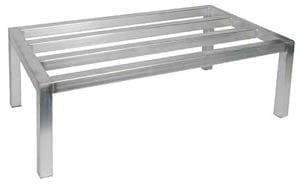 Aluminum Dunnage Rack, NSF, 24x48
