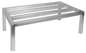 Aluminum Dunnage Rack, NSF, 24x36