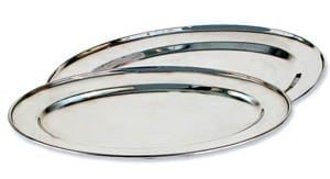 Oval Serving Tray, 21""