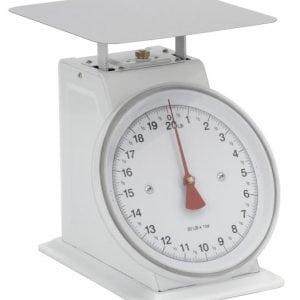 Scale White, 20 lb x 1 oz
